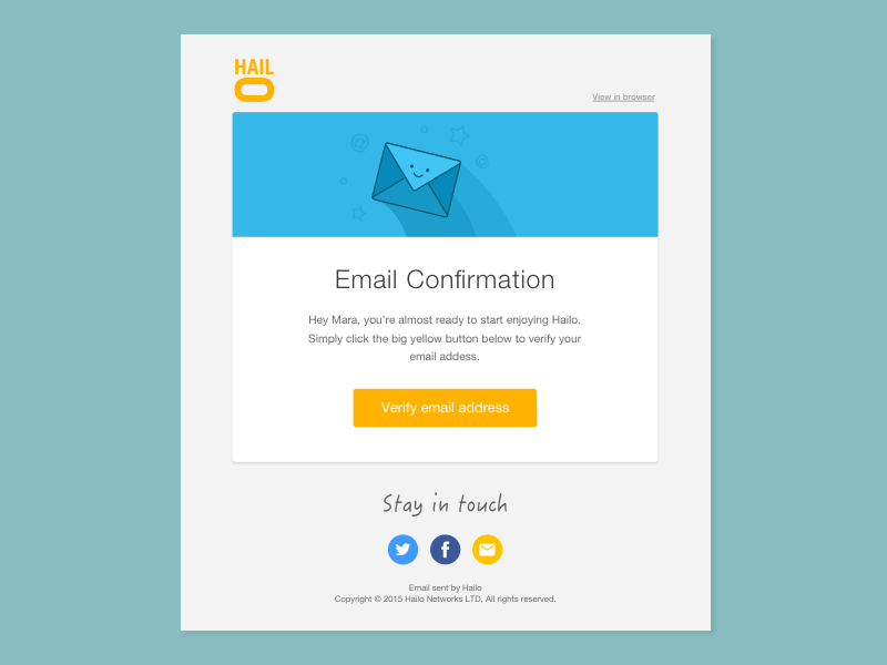 Email template design by mara goes dribbble for Designing an email template