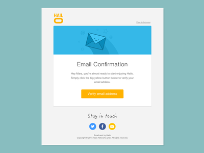 Email Template Design By Mara Goes Dribbble - How to design an email template