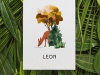 Birth announcement LEON