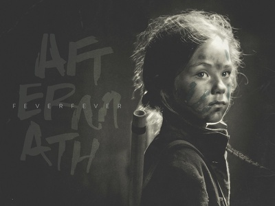 Aftermath - Fever Fever Album Art hand-drawn hand lettering custom type cover music album handwriting