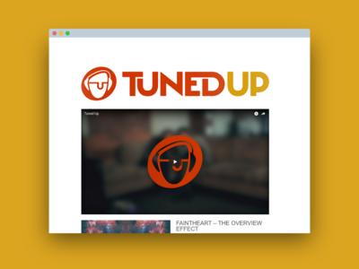 Tuned Up - Branding and Web Design web design website mark logo branding