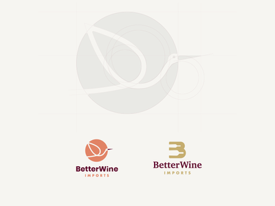 Wine Imports Logo Design
