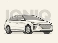 Hyundai Ioniq Illustration