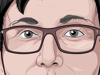 Portrait Vector Illustration Exercise Details