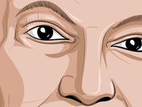 Vector Portrait Illustration Exercise - Details