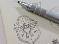 Eagle Logo Graphic Symbol Sketch