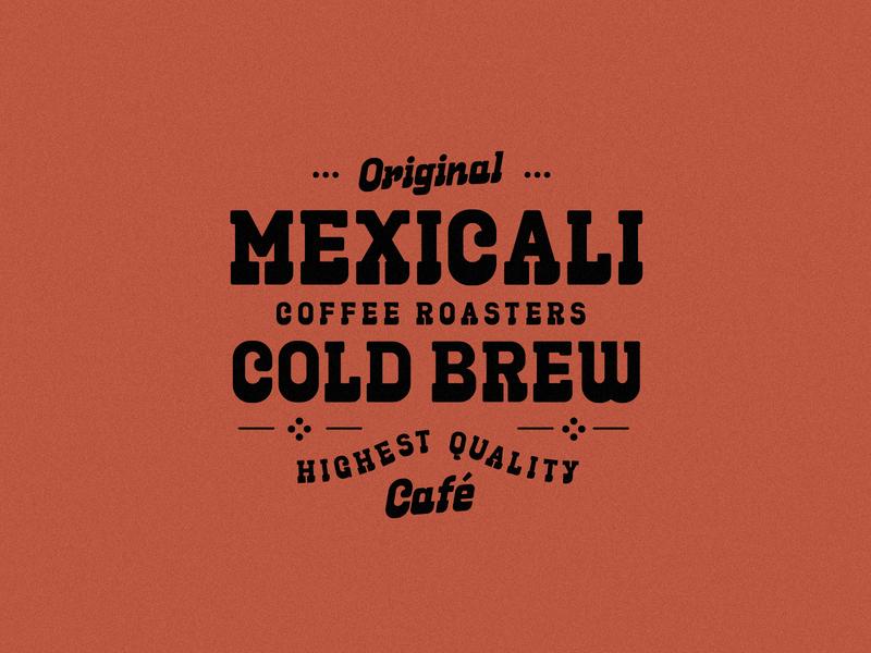 MexiCali (WIP) type design font design creative market retro branding badge type typography vector design