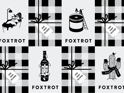 Foxtrot Holiday 2020 christmas tree christmas card holiday christmas marketing branding illustration vector design