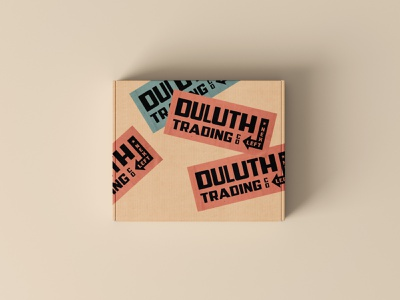 Duluth Trading Co. stickers packaging design packaging branding badge typography vector design