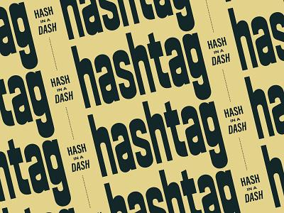 Hashtag Cannabis Delivery vintage type logo branding type retro typography vector design