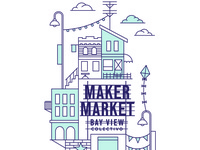 Maker Market Illustration