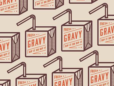 Gravy Illustration illustration typography vector design