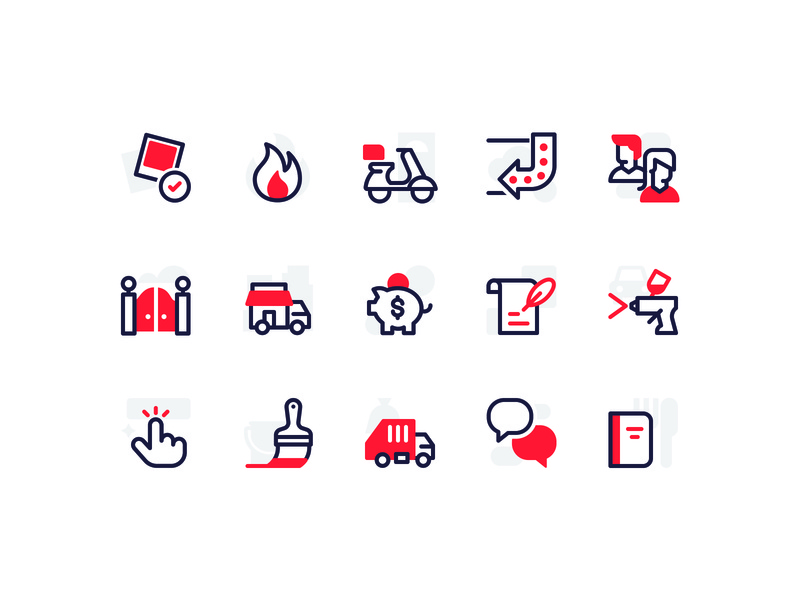 Icons illustration vector icon