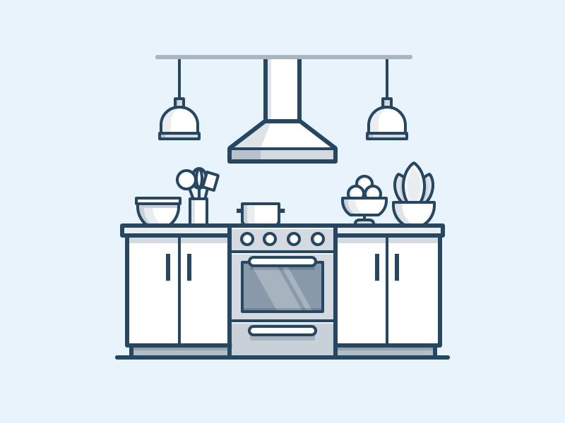 Kitchen Icon By Scott Tusk On Dribbble