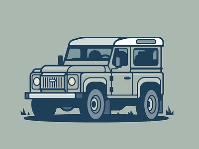 Land Rover jungle jeep truck auto car