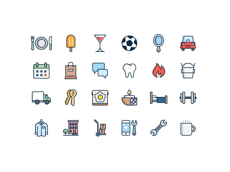 Yelp icons