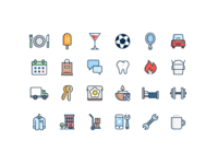 Business Category Icons