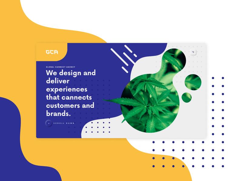 Global Cannect Agency Website minimal creative concept colorful colors figma design illustration web branding color ux ui