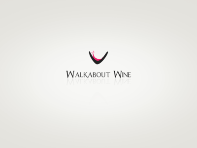 Walkabout Wine logo design