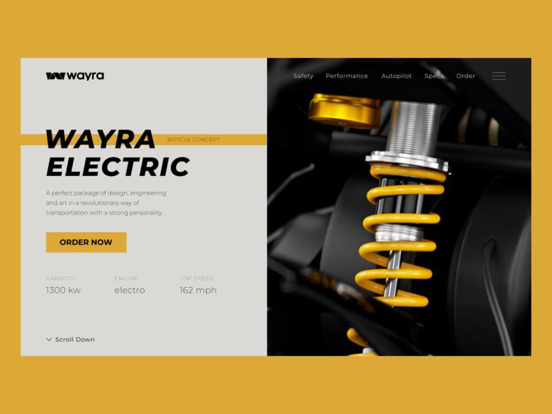 Wayra electric bicycle concept