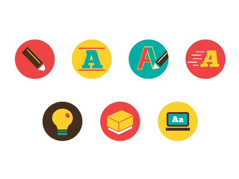 design resume icons by daniel ly on dribbble