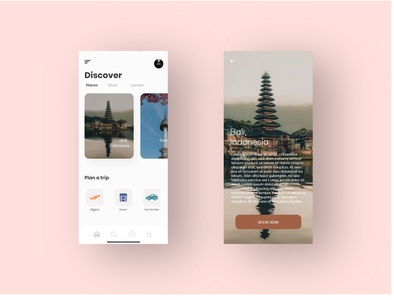 Travelers Mobile Design travel app mobile design ui design