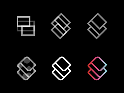 Stridist icon letter lettermark design illustration font typography type logotype logo