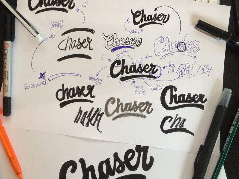 Chaser sketches
