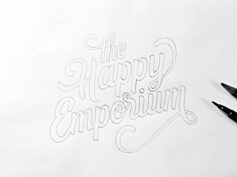 Thehappyemporiumsketch