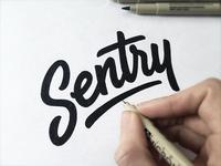 Alternative logotype for Sentry