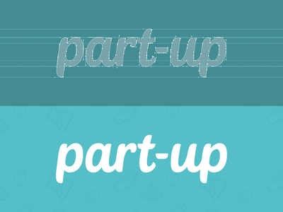 Part-up | Redesign