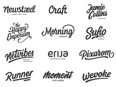 Year one. hand drawn brush sketch calligraphy typography logotype logo hand lettering font type typeface pencil