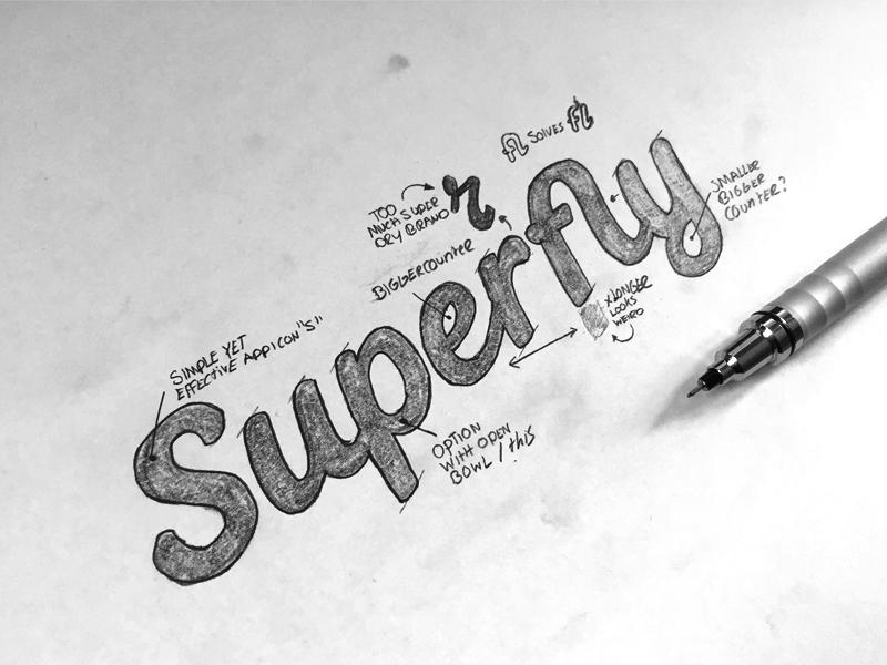 Superfly sketch