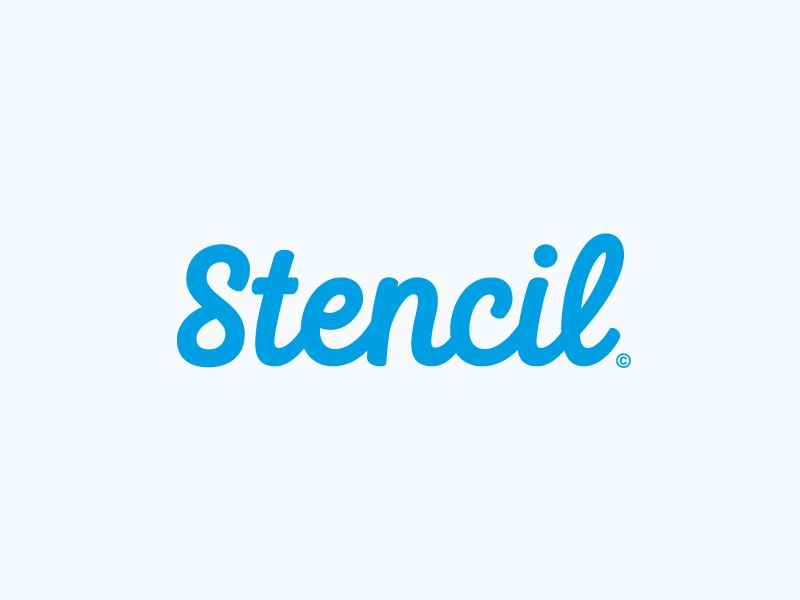 Stencil word mark lettering wordmark pencil type hand lettering logo logotype typography calligraphy sketch hand drawn