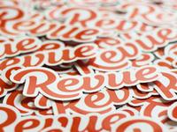 Revue - Stickers