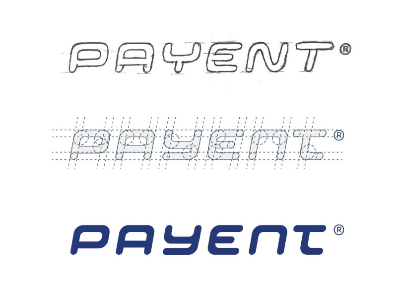 PAYENT word mark type typograpy wordmark lettering sticker logotype logo
