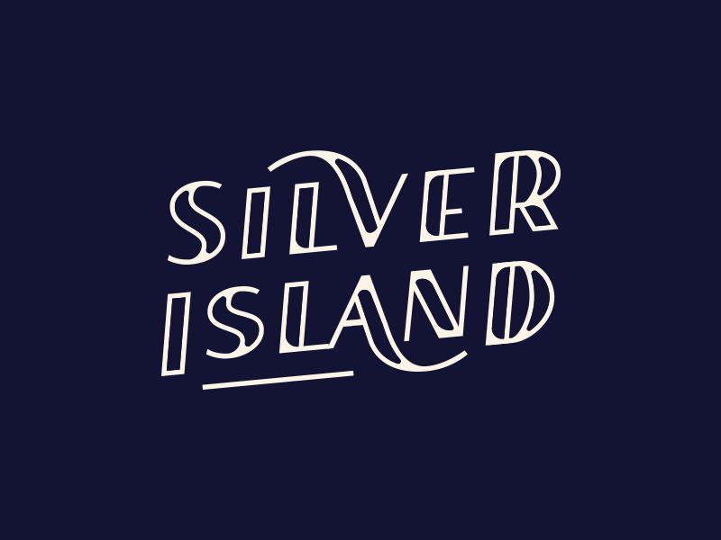 Silver Island script branding identity hand written font word mark type typograpy wordmark lettering logotype logo