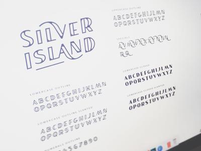 SILVER ISLAND - Fontface