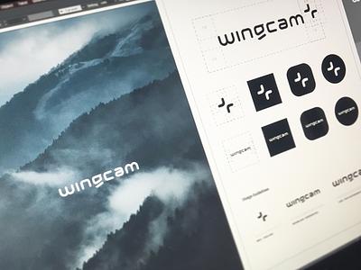 Guidelines von Wingcam. branding font lettering logotype logo sans serif logodesign letter