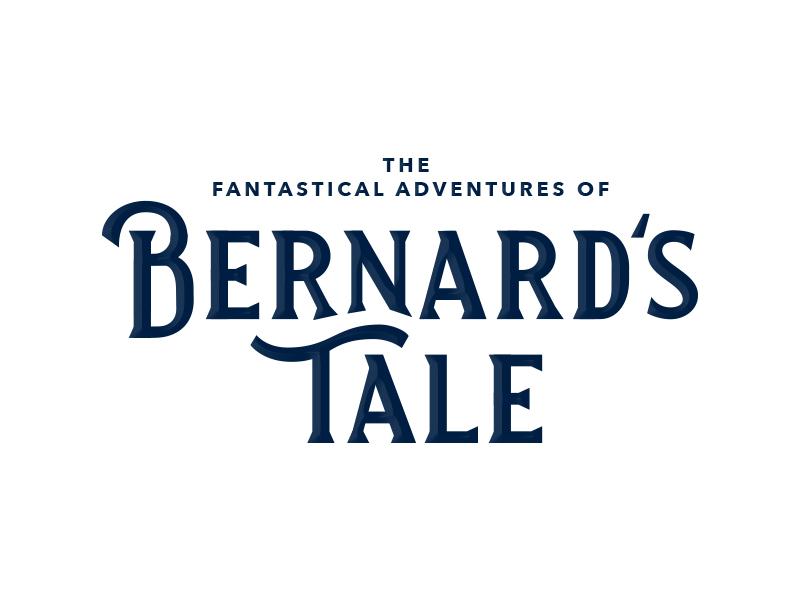 Bernard's Tale branding font lettering logotype logo sans serif logodesign letter