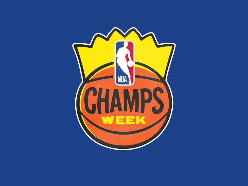 NBA Champs logo illustration sports basketball logo logo branding hoops basketball vintage logo vintage champions champion king nba
