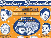 Vintage Wrestling Poster