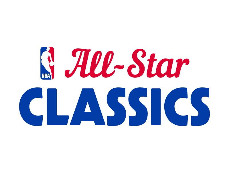 NBA All-Star Classics logo sports all star hoop basketball nba