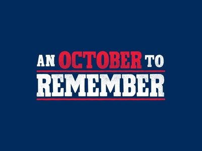 An October to Remember