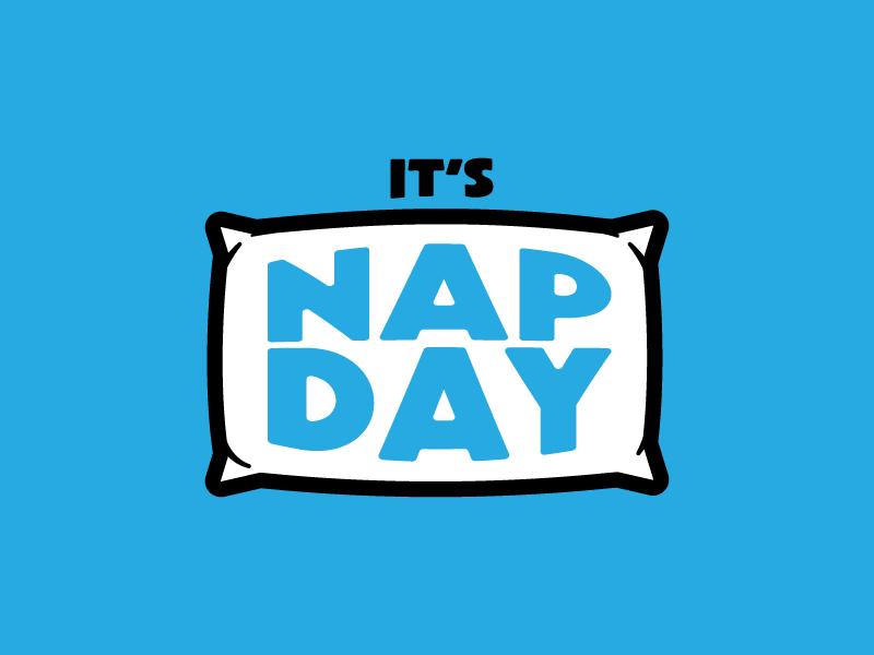 Nap Day cat nap napping soft icon illustration pillow sleep nap