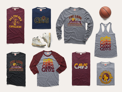 Cavs Apparel Layout