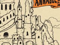 Annabel 'Sandcastle' Print