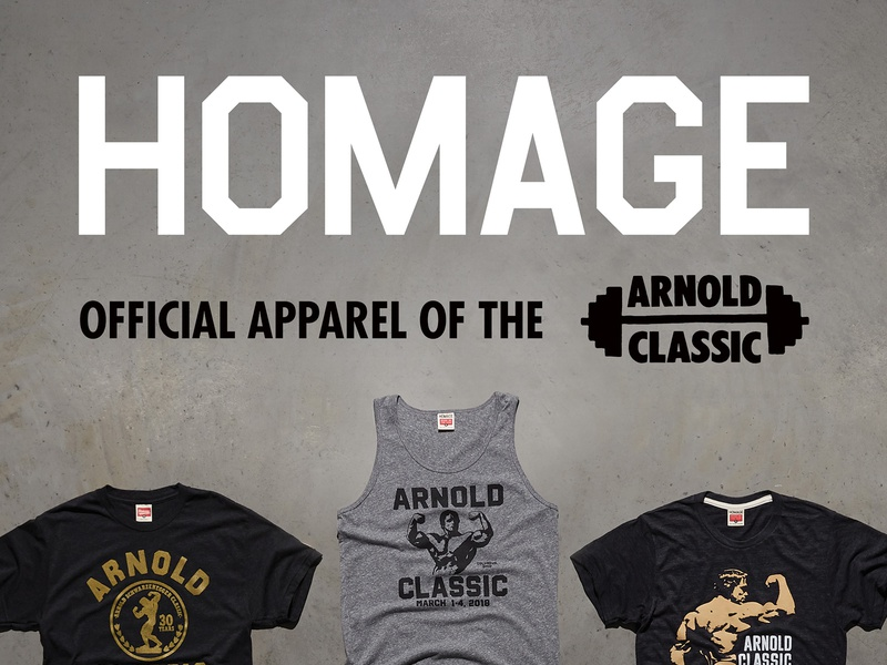 Arnold Classic Signage event poster large format signage terminator schwarzenegger arnold schwarzenegger arnold crossfit powerlifting columbus homage
