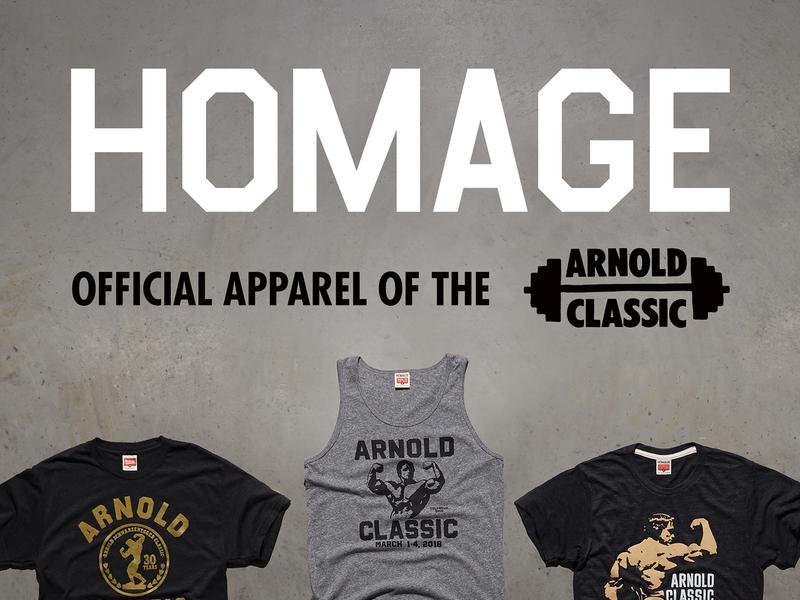 Arnold Classic Signage