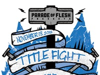 Title Fight Concert Poster